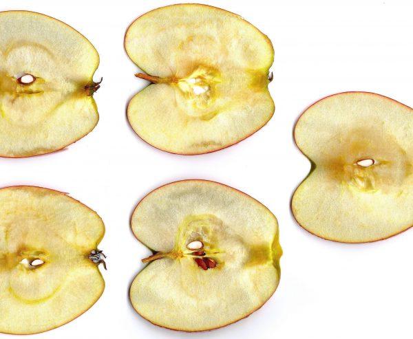 apple chips, oven baked apple chips