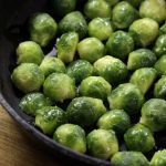 Quick, Pan Fried Brussels Sprouts