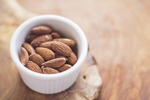 almond milk, nuts