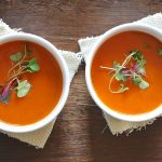 Lightly Curried Winter Squash Soup
