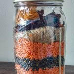 Curried Lentil Soup in a Jar