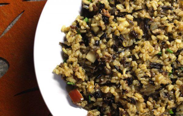 wild rice, stuffing